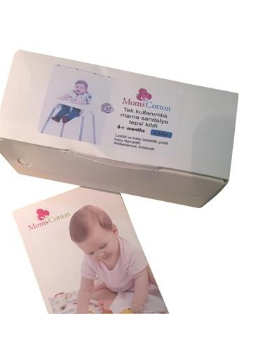 Kullan At  Antibakteriyel Kare Mamasandalye Tepsi Kılıfı-Moms Cotton